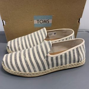 Toms deconstructed alpargata rope New in box!